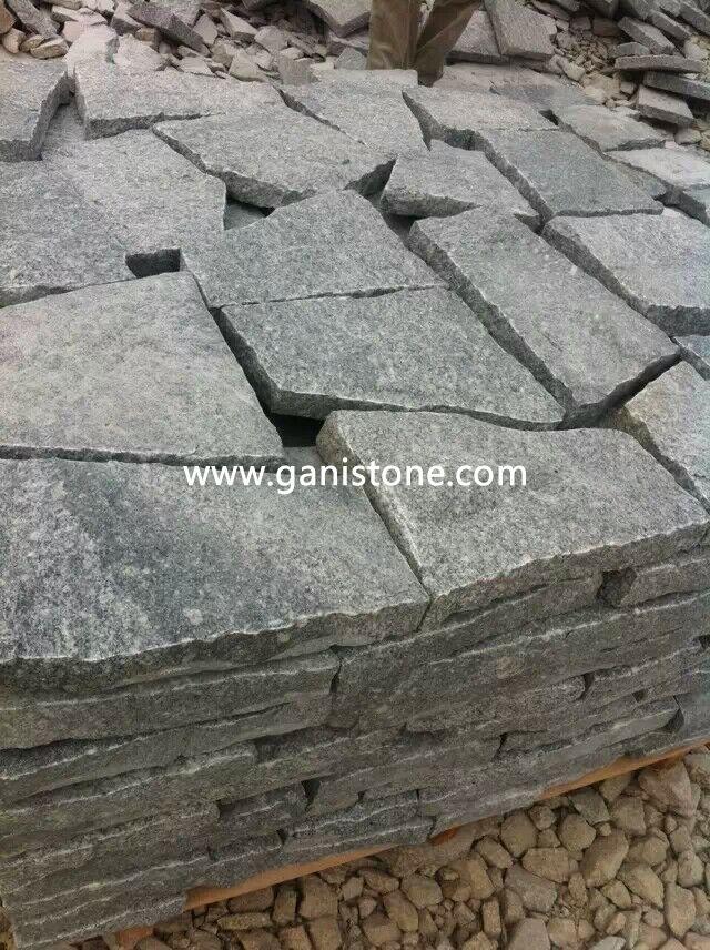 Grey Granite Crazy Paving Stone