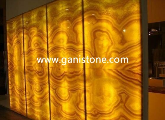 backlit stone decorative wall panels