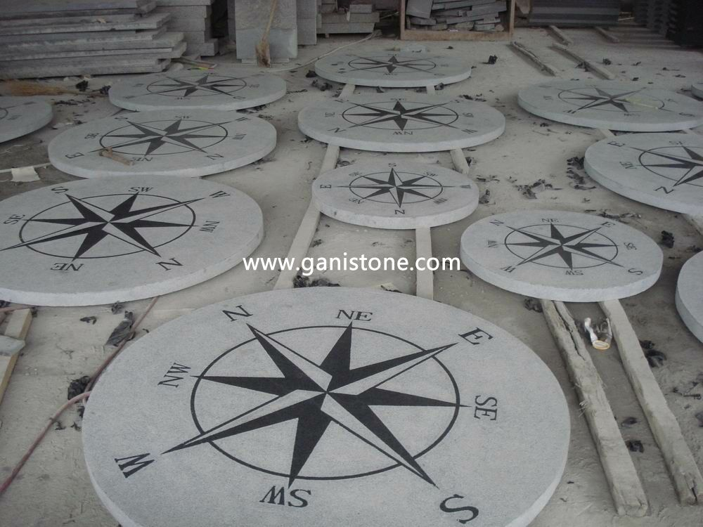 Natural Stone Granite Compass